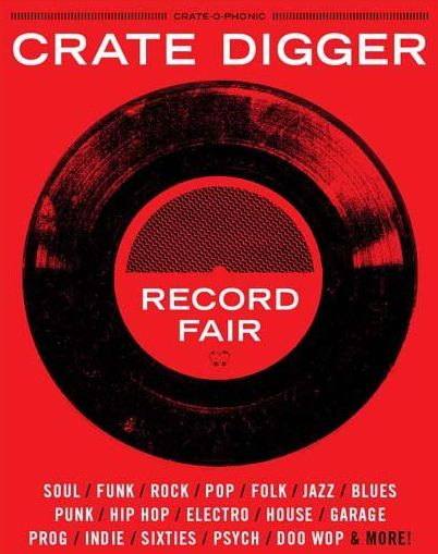 CRATE DIGGER RECORD FAIR no date