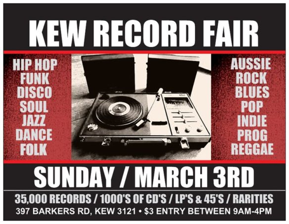 kew record fair 2013