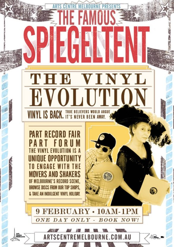 vinyl evolution flyer